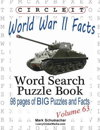 Circle It, World War II Facts, Word Search, Puzzle Book
