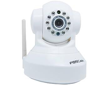 Foscam FI9818W/W - Cámara IP de vigilancia de interior, 1 MP, 720p