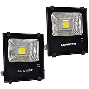 LEPOWER 2 Pack 50W New Craft LED Flood Light, Super Bright ...