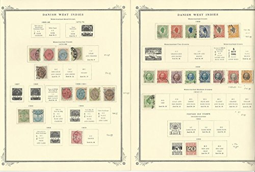 Danish West Indies 1855 to 1917 Collection on Scott Specialty - Danish The Collection