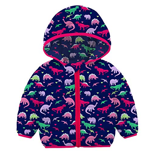 Kids Dinosaur Jacket Breathable Childrens 3D Jacket Long Sleeve Girls Boys Lightweight Hoodie for Travelling