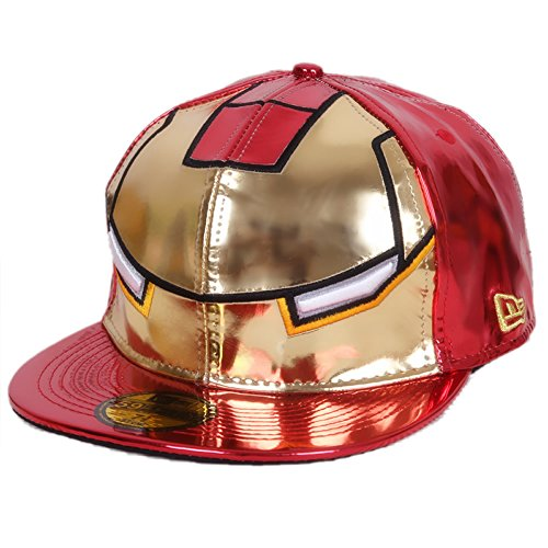 XCOSER Hip Hop Embroidered Snapback Baseball Hat Cap Adjustable Red (Iron Man Hat compare prices)