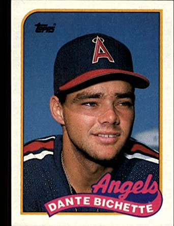Amazon 1989 Topps Baseball Rookie Card 761 Dante Bichette Mint Collectibles Fine Art