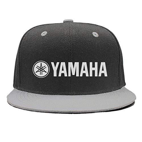 Unisex Gray Baseball Hat for Mens Womens Chassic Yamaha-Guitar-Logo- Caps