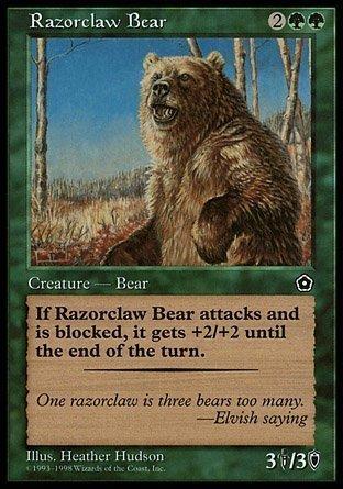 Amazon com: Magic: the Gathering - Razorclaw Bear - Portal