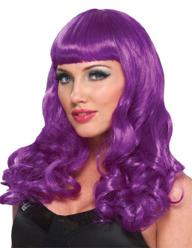Party Girl Purple Wig