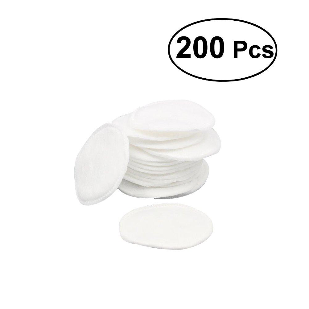 frcolor 200pezzi wattepads cotone rotonda Pads per Struccante Viso in microfibra