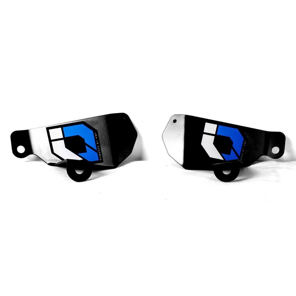 HMF IQ DefenderライトブロックヘッドライトヤマハYFZ 450 R / X / Raptor 250 / 125 | 9414164161ブラック B01MQRK0C0