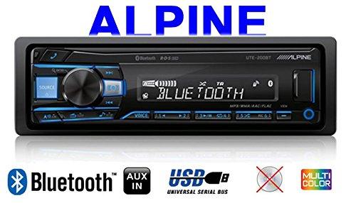 1-DIN PKW KFZ 12V Einbauzubeh/ör JUST SOUND best choice for caraudio Einbauset f/ür BMW 3er E46 Autoradio Radio Alpine UTE-200BT Bluetooth USB MP3