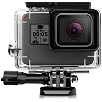iTrunk Waterproof Protective Housing Case with Quick Release Bracket & Thumbscrew for GoPro Hero 5 Black Action Camera