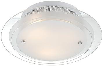Possini Euro Design 2 Tier Glass 15 34 Wide Ceiling Light