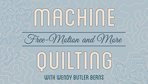 Machine Quilting (Ky Photo)
