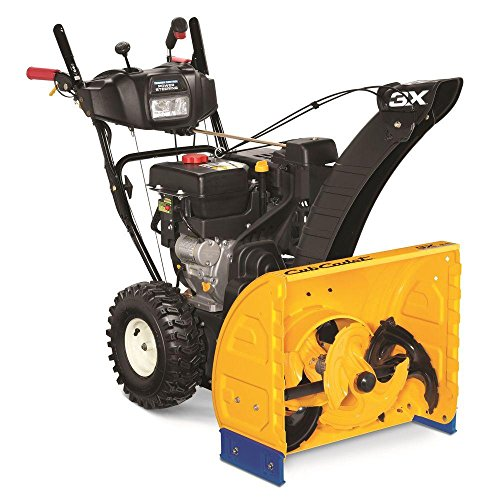 3X 24 in. 277 cc 3-Stage Electric Start Gas Snow Blower with Power Steering and Heated Grips by CUB CADET