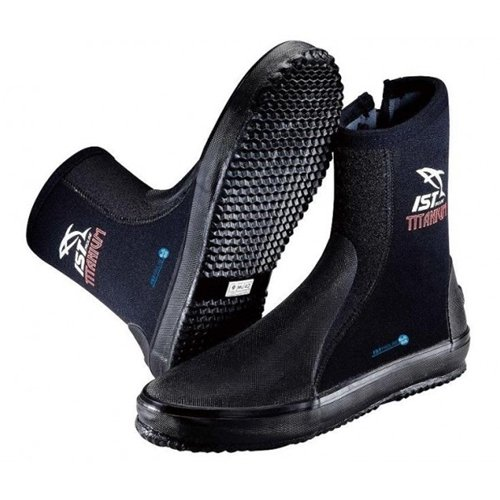 IST Titanium Sole with Toe/Heel Caps & Spandex Lined Boots for Scuba Diving/ Snorkeling Diver 3mm/5mm/7mm