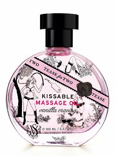 - Victoria's Secret Tease for Two Kissable Massage Oil - Vanilla Craving