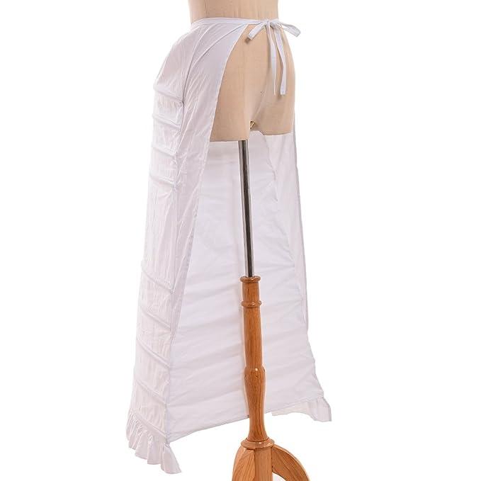 Victorian Lingerie – Underwear, Petticoat, Bloomers, Chemise GRACEART Crinoline Hoop Bustle Cage Pannier $62.99 AT vintagedancer.com