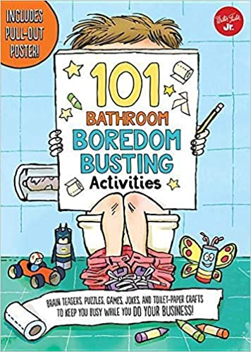101 Bathroom Boredom Busting Activities Brain Teasers Puzzles
