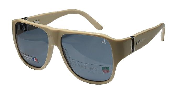 TAG Heuer - Gafas de sol - para hombre beige Marfil: Amazon ...