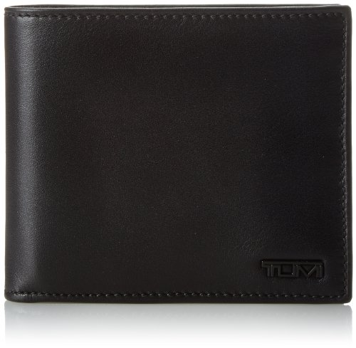 Tumi Men's Delta Global Center Flip ID Passcase, Black, One Size