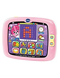 VTech Light-Up Baby Touch Tablet, Pink BOBEBE Online Baby Store From New York to Miami and Los Angeles