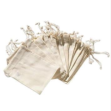 Amazon.com: ORNOOU 12 bolsas de cordón reutilizables de ...