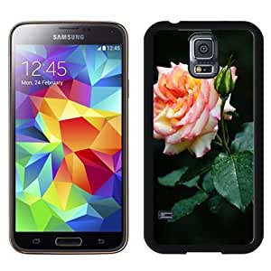 New Beautiful Custom Designed Cover Case For Samsung Galaxy S5 I9600 G900a G900v G900p G900t G900w With Rose Bloom Macro Phone Case