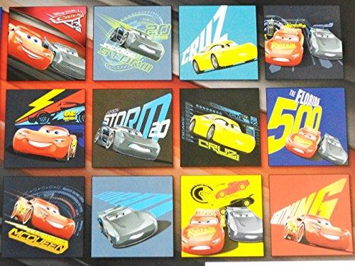 Disney Pixar Cars 3 2018 Calendar and Sandylion Sticker Bundle Photo #2