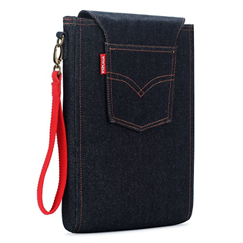 KIZUNA 13-13.3 inch Laptop Sleeve Case With Side Strap Bag D