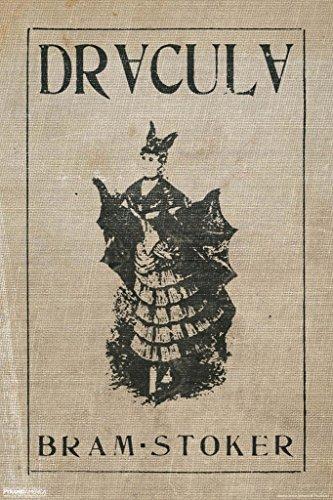 Dracula Bram Stoker Vintage Style Art Print Poster