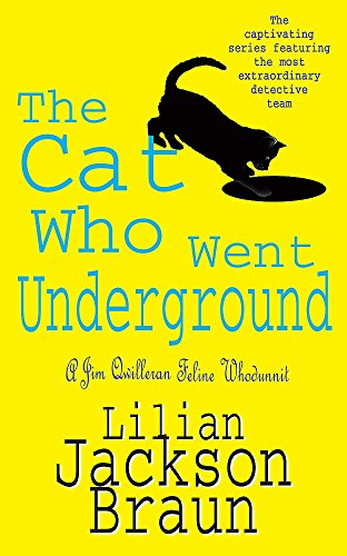 Book cover for The Cat Who Went Underground
