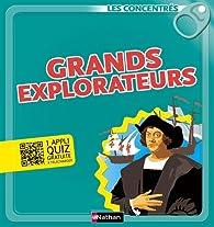 Grands explorateurs par Emmanuelle Ousset