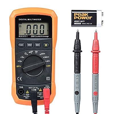 BEBONCOOL Digital Multimeter with Probes