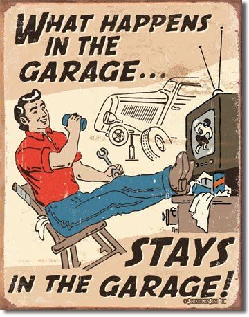 What Happens in The Garage Stays in The Garage 16