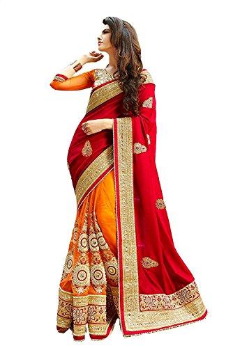 Delisa Indian Ethnic Bollywood Saree Party Wear Pakistani Designer Sari Wedding, Saree for Womens