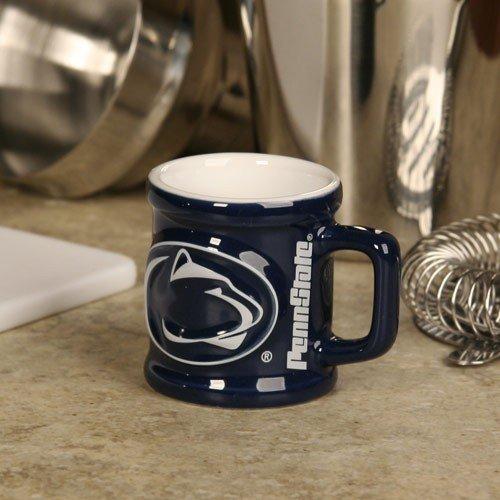 Penn State Nittany Lions Navy Blue 2 oz. Sculpted Team Shot Mug