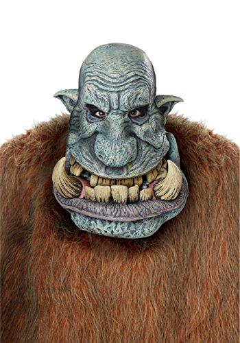 California Costumes Men's Battle Troll Mask, Green, One ()