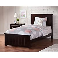 Nantucket Bed with Matching Foot Board, Twin XL, Espresso