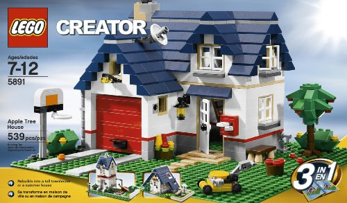 Amazon Lego Creator Apple Tree House 5891 539 Piece Set