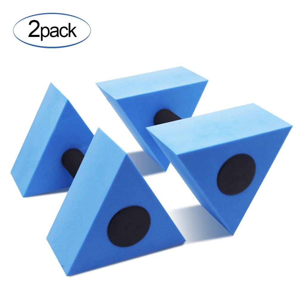 KLOLKUTTA Water Dumbells for Water Aerobics, Triangular Water Aerobics Equipment Barbells Foam Aqua Dumbbell for Pool…