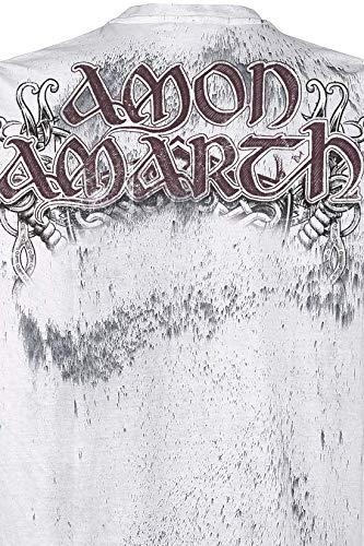Amon Beardskulls Claro Camiseta Amarth Gris xqxRBC