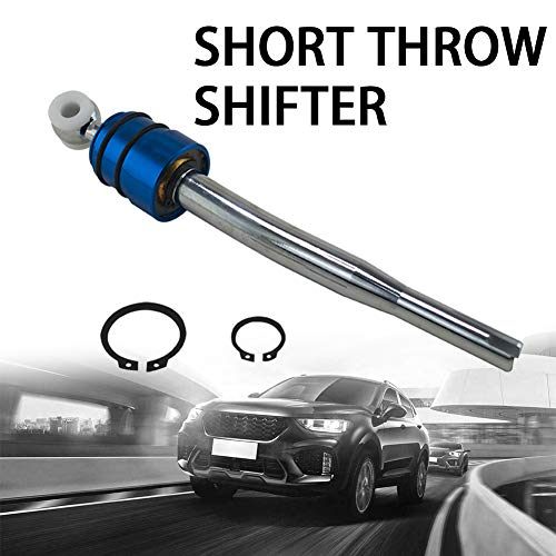 Fansport Car Shift Lever Short Shifter Aluminium Alloy Racing Gear Lever Shift Knob for E36 Car