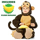 Spooktacular Creations Baby Monkey Costume Deluxe Set (3T)