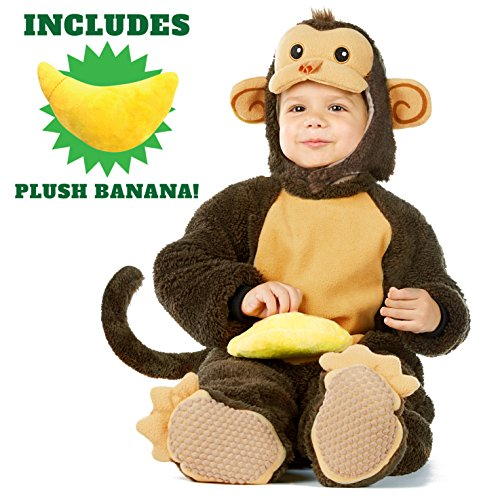 Safari Costume Easy (Spooktacular Creations Deluxe Baby Monkey Costume Set (18-24 months))