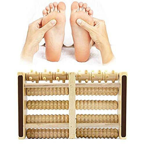del Pie Equipo del Cuidado Rodillo de Madera para Relajar Masaje Pies Txyk Rodillo del Massager del pie