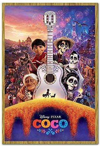 Coco Pixar Disney Guitarra Póster de corcho Pin tablón de notas ...