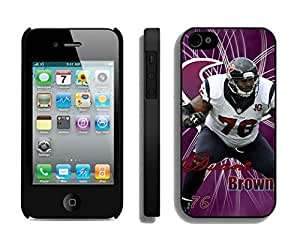 NFL&Houston Texans-Duane Brown_iPhone 4 4S Case Gift Holiday Christmas Gifts cell phone cases clear phone cases protectivefashion cell phone cases HLNA605584185