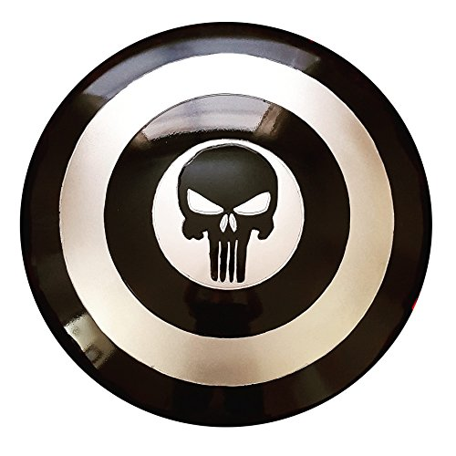 [Lifesize Handmade Punisher Shield] (Kickass Costume Cosplay)