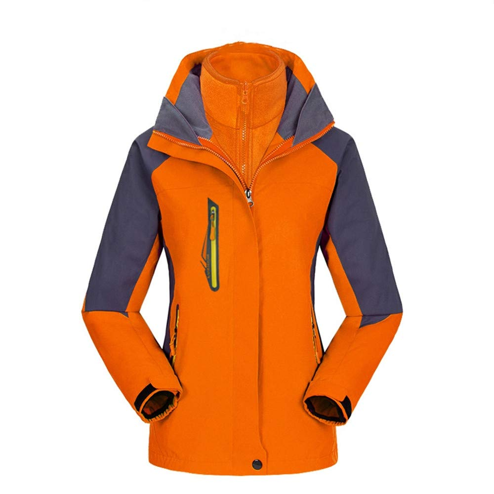 AiNaMei Damen Outdoorjacken und warme Skianzüge aus Samt