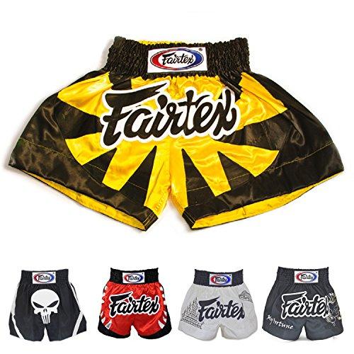 Fairtex Thai Trunks - Fairtex Muay Thai Boxing Shorts BS0614 Tiger , Size M