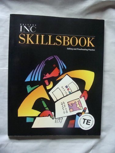 Writers Inc Skillsbook: Editing and Proofreading Practice, Teacher's Edition